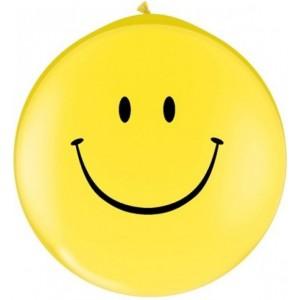 Baloane latex jumbo 91 cm Smileys