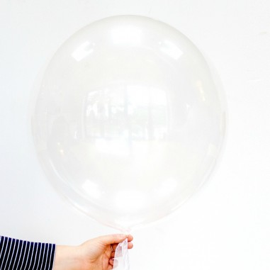 Balon jumbo transparent din poliuretan 91cm