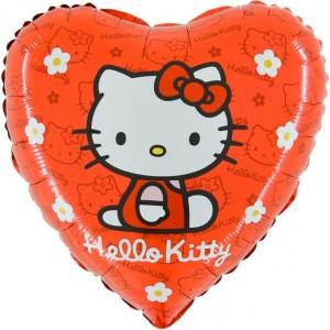 Foil balloons 45 cm RD Hello Kitty Flowers