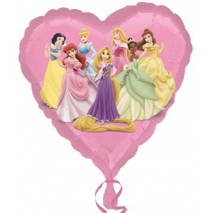 Baloane folie 45 cm Princess