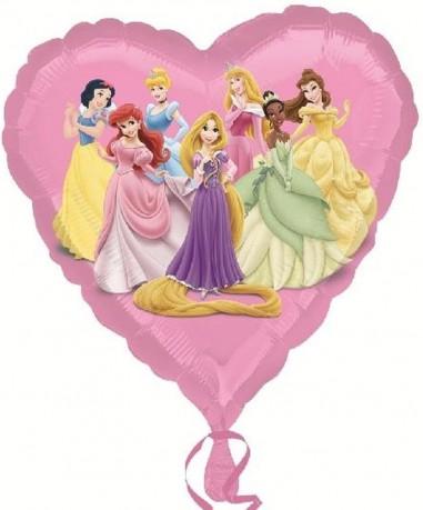 Foil balloons 45 cm Princess