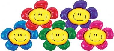 Balloons Figurines Flower Smiling 77cmx67cm