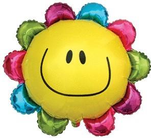 Balloons Figurine Rainbow Flower 77cmx67cm