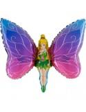 Baloane Figurine Lady Butterfly 90cmx60cm