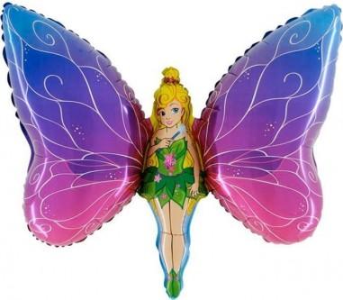 Balloons Figurine Lady Butterfly 90cmx60cm