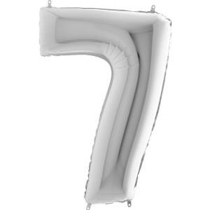 Baloane figurina cifra 7 dimensiune 95cm