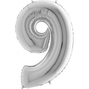 Baloane figurina cifra 9 dimensiune 95cm