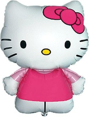 BALOANE MINI FIGURINE 30 CM HELLO KITTY