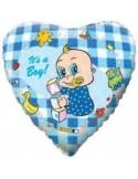 Foil balloons 45 cm BOY ALPHA