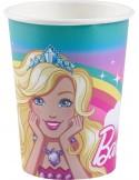 8 Pahare Barbie 250 ml