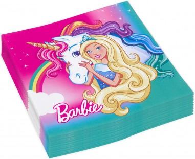 20 Servetele Barbie 33x33 cm