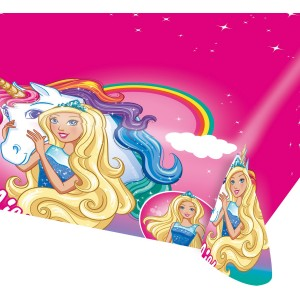 Fata de masa Barbie 120x180 cm