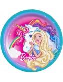 8 Farfurii Barbie 23 cm