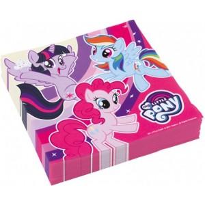 20 Servetele My Little Pony 33x33 cm