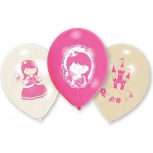6 Latex Baloane My Princess 22.8 cm