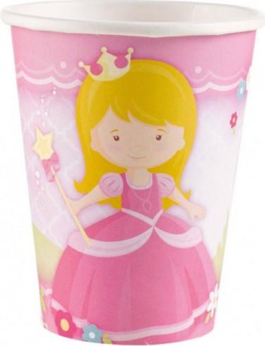 8 Pahare My Princess 266 ml