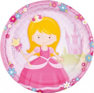 8 Farfurii My Princess 23 cm