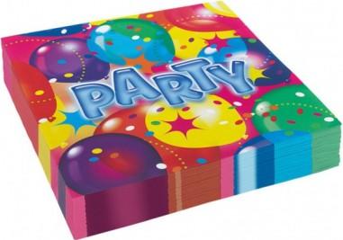 20 Servetele Party 33x33 cm