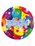 8 Farfurii Party 18 cm