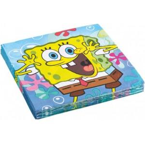 20 Servetele SpongeBob 33x33 cm
