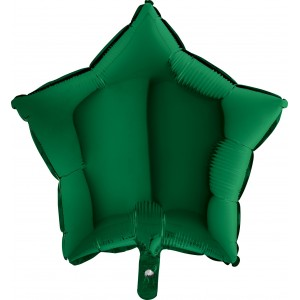 Baloane folie 45 cm stea Verde
