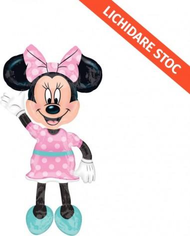 "Baloane figurina AirWalkers ""Minnie"" 96cmX137cm"