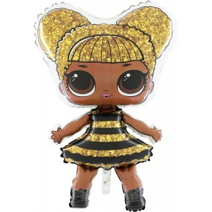BALOANE FOLIE FIGURINA LOL-Surprise Queen-Bee
