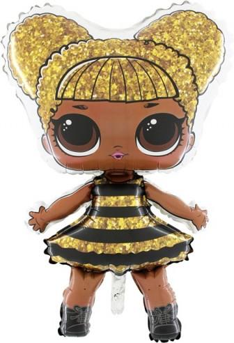 BALOANE FOLIE FIGURINA LOL-Surprise Queen-Bee