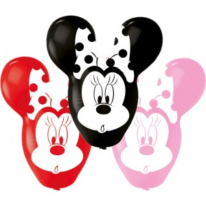 4 Baloane latex Minnie Giant Ears 55.8cm