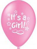 Baloane latex 30 cm it s a girl