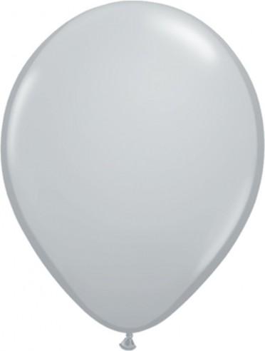 Balon latex pastel(macarons) 28cm gri