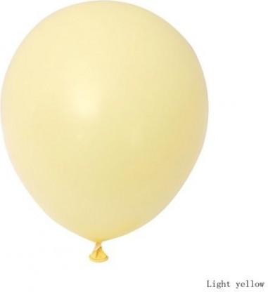 Balon latex pastel(macarons) 28cm galben