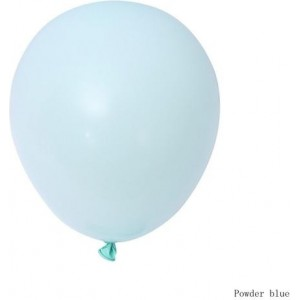 Balon latex pastel(macarons) 28cm albastru