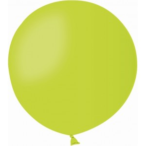 Balon latex jumbo 80 cm verde deschis