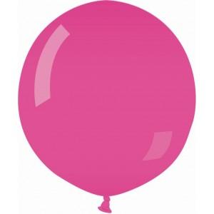 Balon latex jumbo 80 cm roz