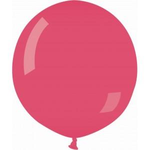 Balon latex jumbo 80 cm rosu