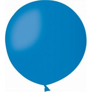Balon latex jumbo 80 cm albastru