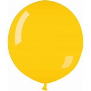 Balon latex jumbo 80 cm galben