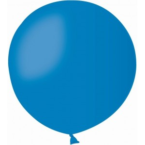 Balon latex jumbo 45 cm albastru