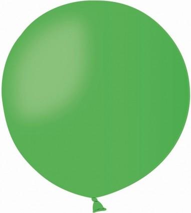 Balon latex jumbo 45 cm verde