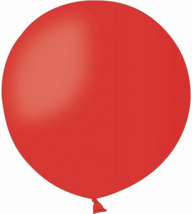 Balon latex jumbo 45 cm rosu