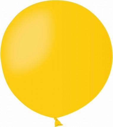 Balon latex jumbo 45 cm galben
