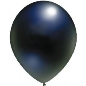 Baloane latex standard 13 cm NEGRU