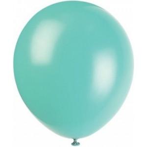 Baloane latex standard 26 cm aqua