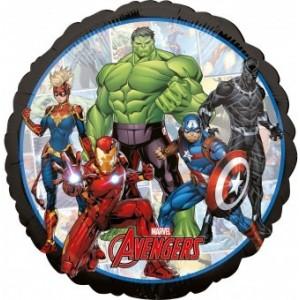 Balon folie 45 cm Standard Marvel Avengers Power Unite