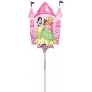 Balon mini figurina Multi-Princess Castle