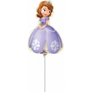 Balon mini figurina Shape Sofia the First