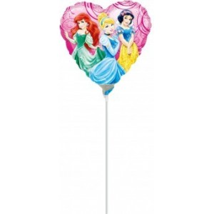 Balon mini figurina Princess Garden