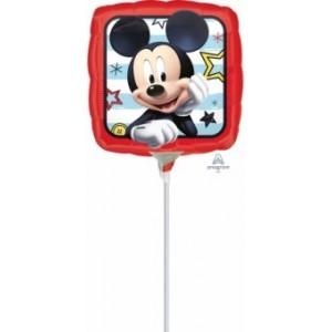 Balon mini figurina Mickey Roadster Racers