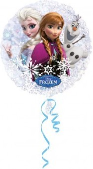 Balon folie holograma Frozen 50 cm